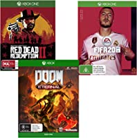 Under $50 on selected Xbox One video games. Discount applied in prices displayed.