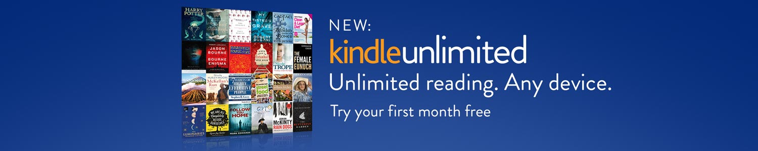 NEW: Kindle Unlimited Australia - Unlimited reading, Any device. Try your first month free.
