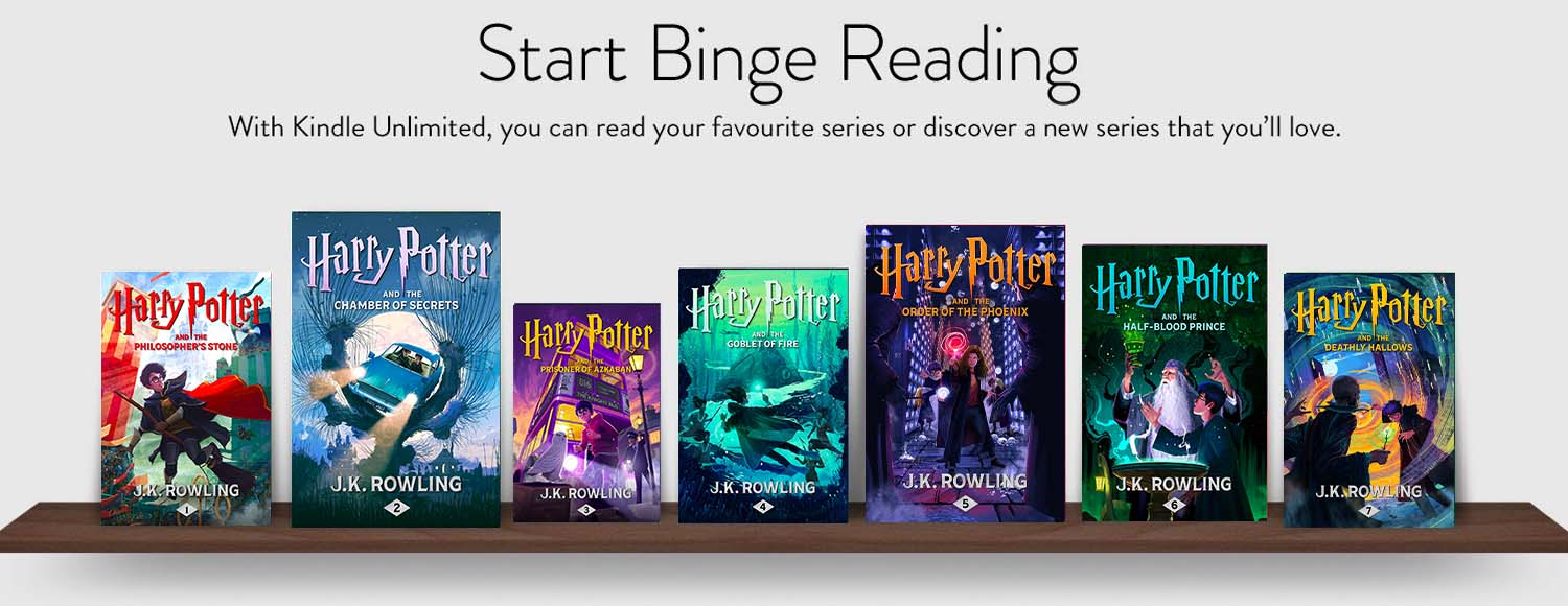 Read Harry Potter on Kindle Unlimited