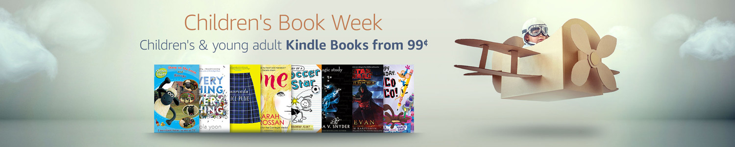 Children's Book Week - Children's and Young Adult eBooks on sale from 99¢