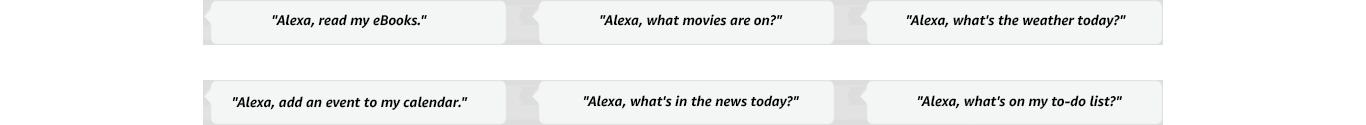 Alexa, read my eBooks