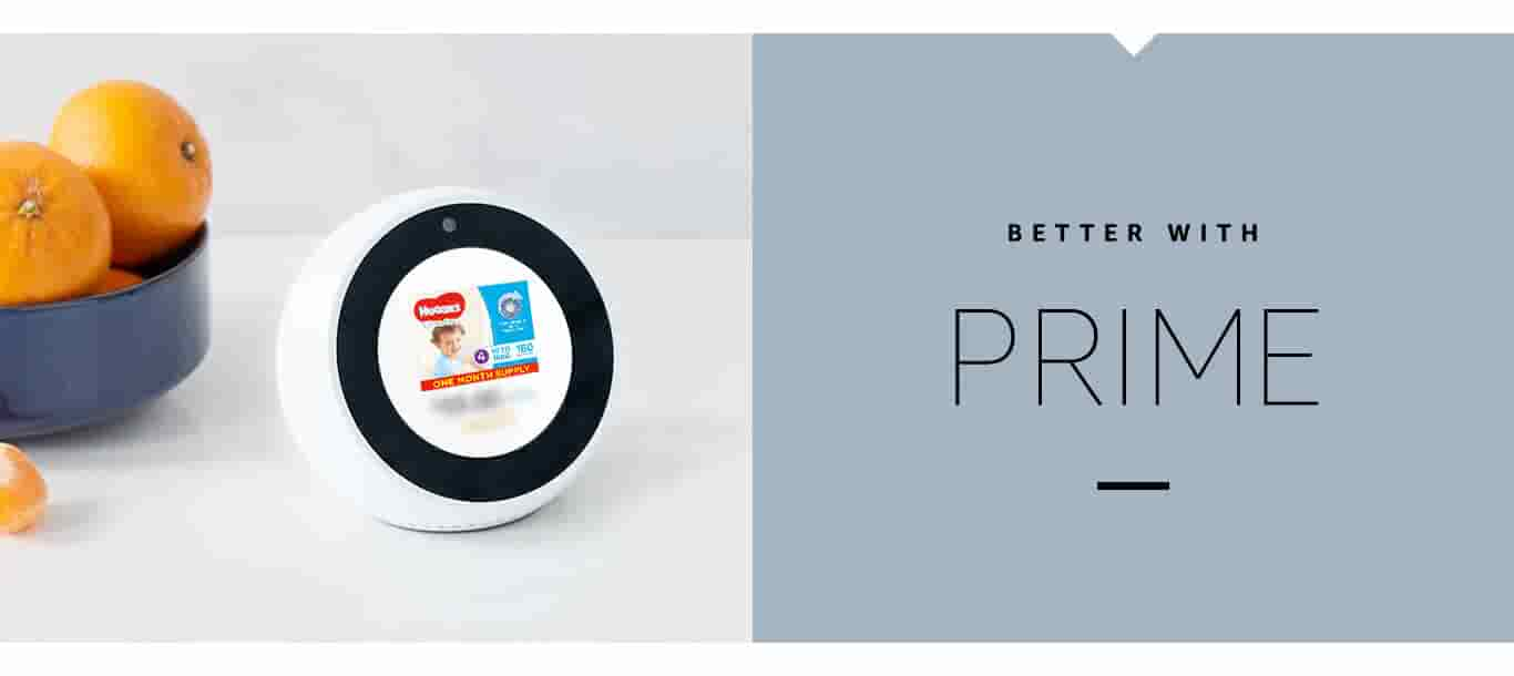 Echo Spot - Better with Prime