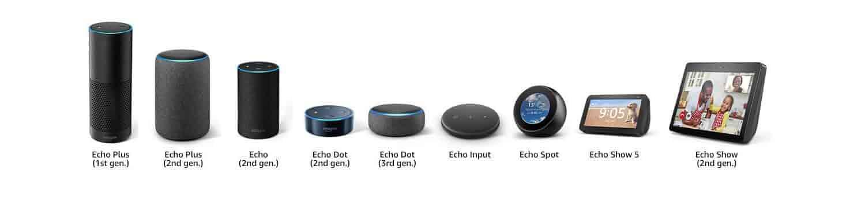 Echo Wall Clock works with Echo (1st Generation), Echo Plus (1st Generation), Echo Plus (2nd Generation), Echo (2nd. Generation), Echo Dot (2nd Generation), Echo Dot (3rd Generation), Echo Spot, Echo Show  (1st Generation), Echo Show (2nd Generation), Echo Input
