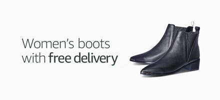 Women's boots with free delivery