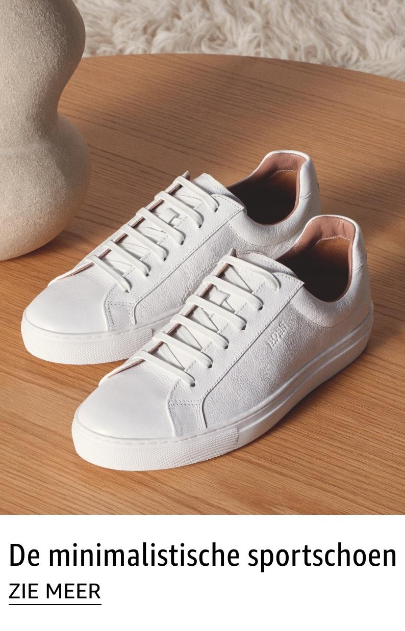 De minimalistische sportschoen