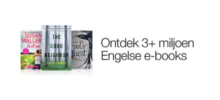 Meer dan 3 miljoen goedkope Engelse ebooks