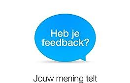 Heb je feedback?