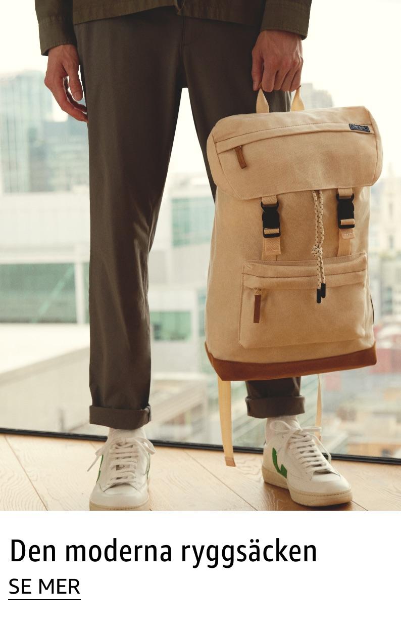Den moderna ryggsäcken