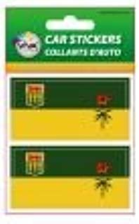 CANADIAN PROVINCE . NEW IN PACKAGE BRITISH COLUMBIA BC PROVINCIAL FLAG COLLECTION OF 7 DIFFERENT SIZE DECAL STICKERS ..