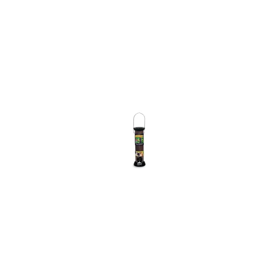 ONYX CLEVER CLEAN NYJER FEEDER, Color BLACK; Size 12 INCH (Catalog Category Wild BirdWILD BIRD FEEDERS)