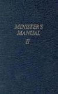 amazon com 2 minister s manuals ii 9780882435480 gospel rh amazon com Assembly of God Jobs Assembly of God Pastors
