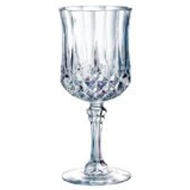 Cristal D'Arques Longchamp 8-1/4-Ounce Goblet, Set of 4
