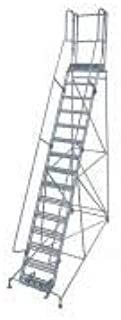 product image for Cotterman 1515R2642A6E20B9AC1P3 - Rolling Ladder Steel 192In. H. Gray