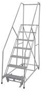 product image for Cotterman 1207R1824A1E24B4C1P6 - Rolling Ladder Steel 100In. H. Gray
