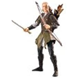 Lord of the Rings Trilogy Legolas with Rohan Armor Action Figure