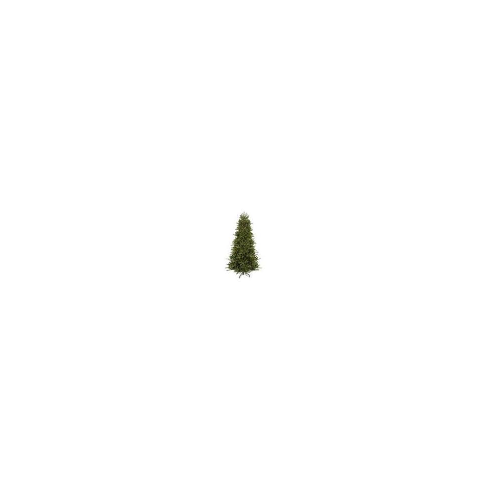 9.5 Pre Lit Medium Vermont Fir Instant Shape Artificial Christmas Tree   Clear