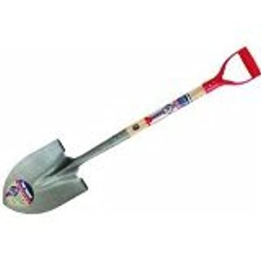 True Temper Round Point True American D Shaped Wood Handle Shovel - 1564400