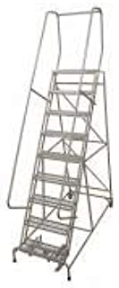 product image for Cotterman 1509R2632A1E10B4W5C1P6 - Rolling Ladder Steel 120In. H. Gray