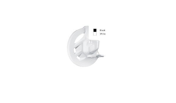 Polisport 8391000001 Front Disc Covers White