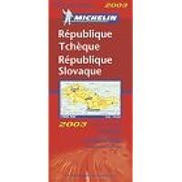 Carte routière : République Tchèque - République Slovaque, N° 11731