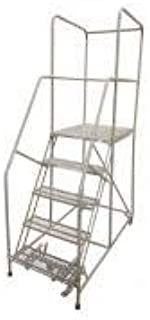 product image for Cotterman 1505R2630A6E30B4W5C1P6 - Rolling Ladder Steel 80In. H. Gray
