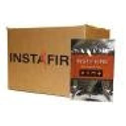 InstaFire Granulated Fire Starter, All Natural, Eco-Friendly, Lights up to 12 Total Fires in Any Weather, Awarded 2017 Fire Starter Of The Year, 3 Pk