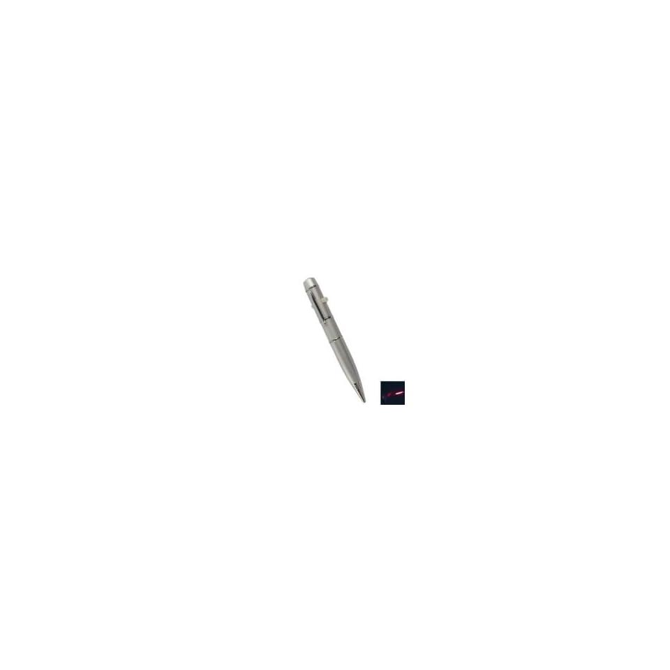 8GB Pen Shaped USB Flash Drive Silver