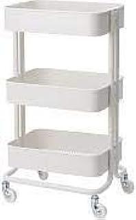Amazon.com: Raskog Home Kitchen Bedroom Storage Utility Cart ...