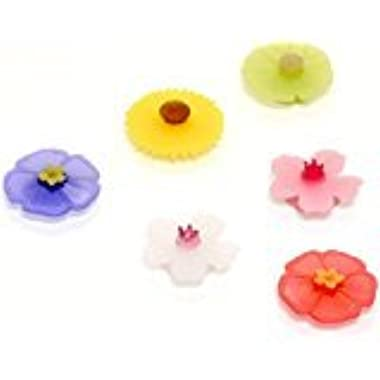Floral Drink Markers Set/6
