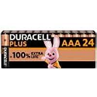 Duracell Alkaline-batterijen AAA Plus, 1,5 V, LR03 MN2400, 24 stuks