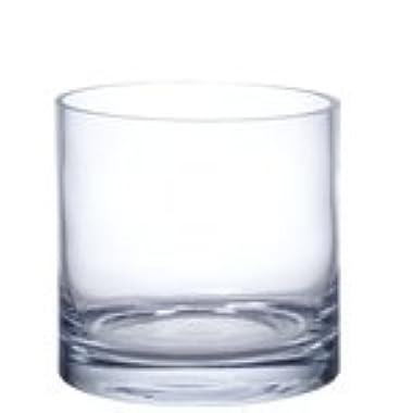 Cylinder Glass Vase 5x5
