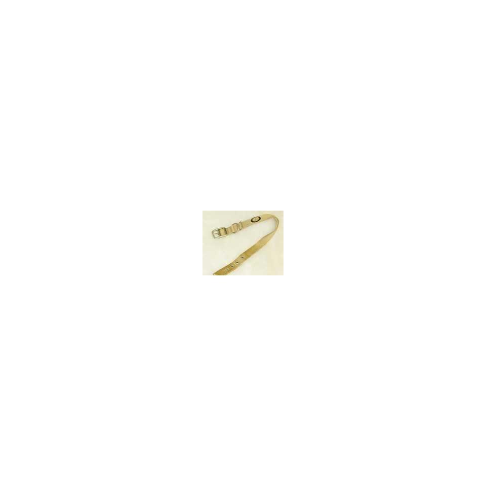 Hamilton Nylon Dog Collar   22 X 1.5 X .25   Gold