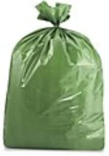 product image for ULINE USA-Made Colorful Trash Bags (10, Green 50 GALLONS)