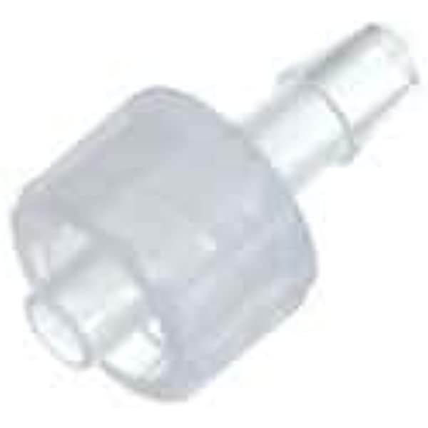 White Nylon ID Tubing 1//16 Pack of 10 1.6 mm May be used with separate rotating lock ring; FSLLR Value Plastics Male Luer to 500 Series Barb