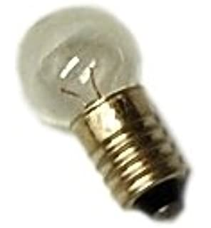 Light Bulb Screw Base: Pack of 10 E10 Miniature Screw Base Light Bulbs, 2.5V / 0.3A,Lighting