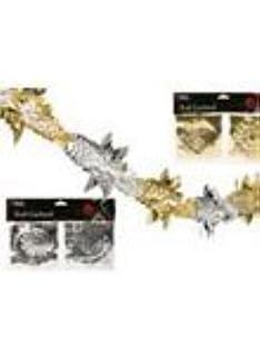 Guirlande Papier Aluminium X 100 Decorations Noel Amazon Fr Bricolage