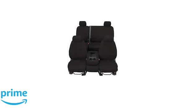 Polycotton Covercraft SeatSaver Front Row Custom Fit Seat Cover for Select Mercedes-Benz Sprinter Models Charcoal