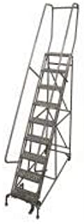 product image for Cotterman 1009R1824A2E10B4AC1P6 - Rolling Ladder Steel 120In. H. Gray