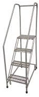 product image for Cotterman 1204R3232A1E12B3C1P6 - Rolling Ladder Steel 70In. H. Gray