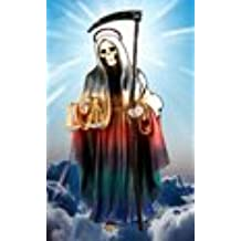 7 Chackras Holy Death Prayer Card in Spanish. Estampa Y Oracion De La Santa Muerte Chackra En Español. (Holy Death)