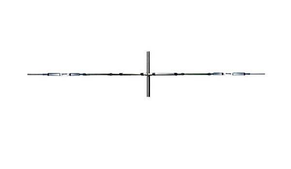 Antena dipolo rotativo Bandas 10/15/20 m 14/21/28 MHz ...