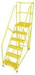 product image for Cotterman 6WP2448RA3B4B8AC2P6 - Work Platform 6 Step Steel 96In. H.