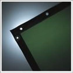 See-Thru Welding Curtains - wilson 6'h x 8'w green14 mil see-thru curtain