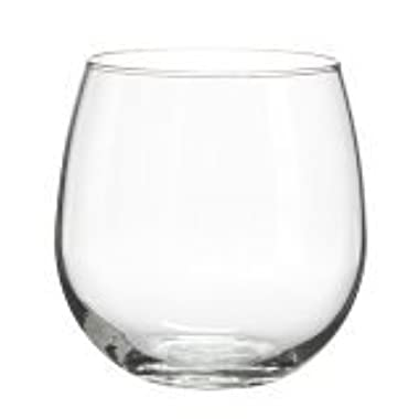 Libbey Vina Stemless Red-Wine Glasses (16.75oz/Set of 4)