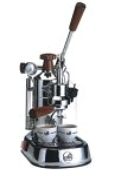 La Pavoni Professional - Cafetera de espresso manual, color plateado: Amazon.es: Hogar