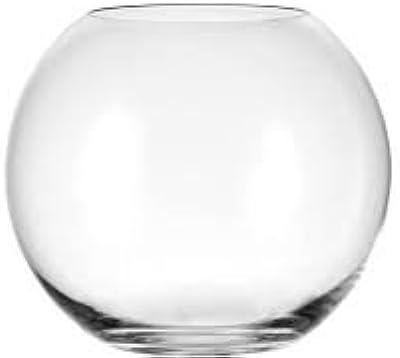 Amazon Wgv Clear Round Bubble Bowl Glass Vase Home Kitchen