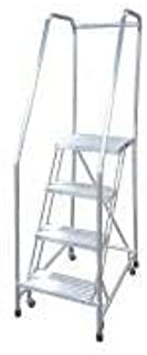 product image for Cotterman A4R1822A4B3C50P6 - Rolling Ladder Steel 70In. H. Gray