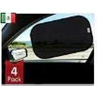 Timotech parasol negro para auto, protección de rayos UV, para todo tipo de auto, contra el calor y el deslumbramiento…