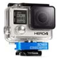Schier Clamp for Action or GoPro HERO cameras (BLUE) | Innovative, Secure Thumbscrew R...