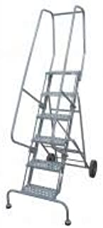 product image for Cotterman 6507R1830A6E10B11W5C1P6 - Rolling Ladder Hndrl Platfm 70 In H